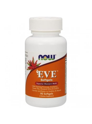 NOW EVE Women's Multi (90 гелевые капсулы) , , 1 700 RUB, Foods Eve, NOW Foods, Витамины и минералы
