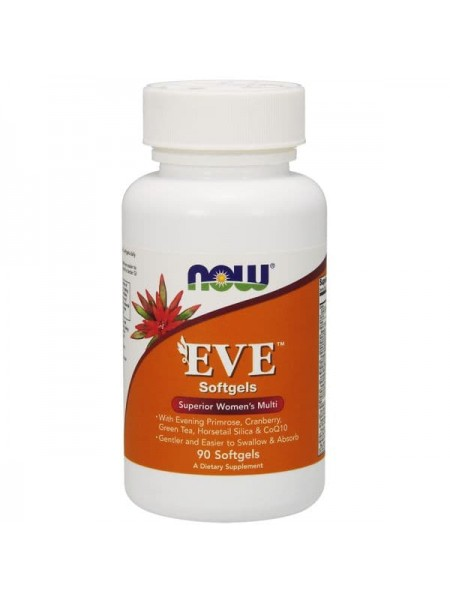 NOW EVE Women 's Multi (90 гелевые капсулы)
