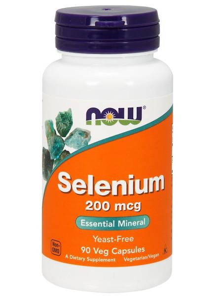NOW Selenium 200 mcg (90 tabs)
