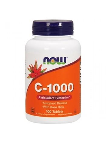 NOW Vitamin C-1000 (100 tabs), , 850 RUB, с-500, NOW Foods, Витамины и минералы