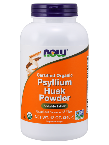 NOW  Foods Psyllium Husk Powder (340гр)