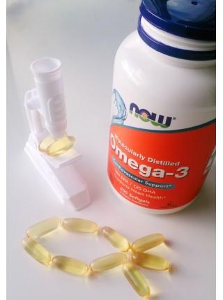 NOW Omega-3 180 EPA/120 DHA  (200  caps)