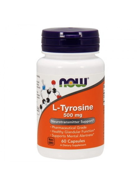 NOW L-Tyrosine 500 мг (120 caps)