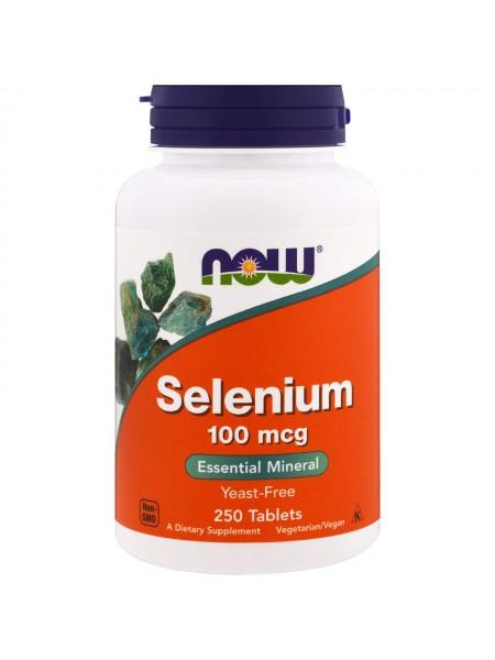 NOW Selenium 100 mcg (250  tabs)