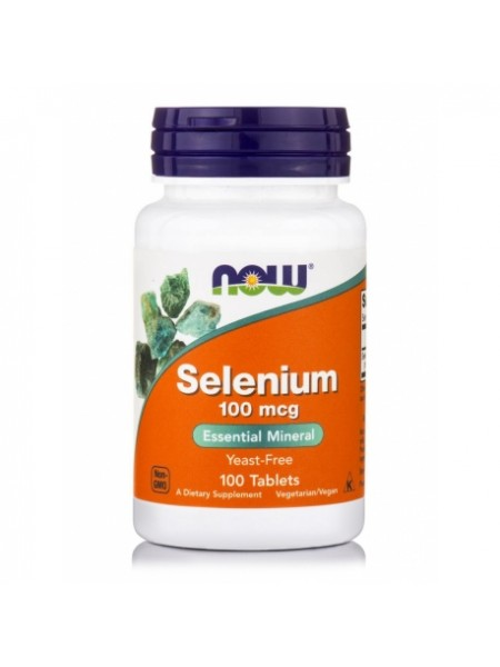 NOW Selenium 100 mcg (100 tabs)