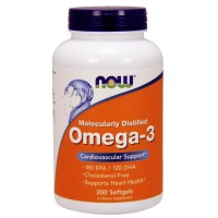 NOW Foods Omega-3 180 EPA/120 DHA  (200  caps)