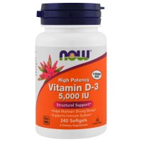 NOW Vitamin D-3 10.000 IU (120 caps)