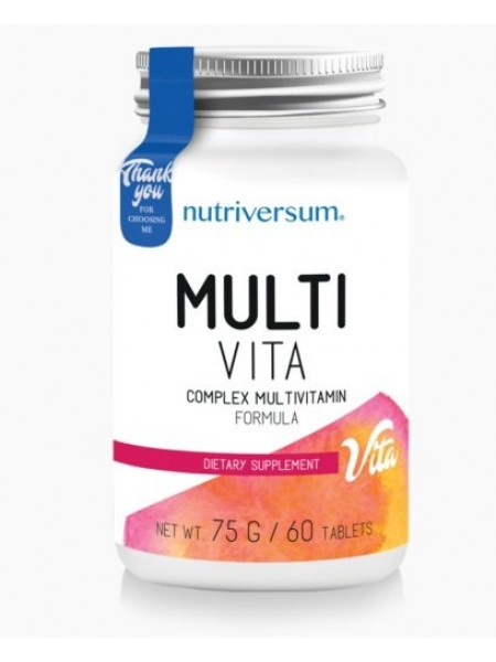 Nutriversum Vita Multi Vita (60 caps)