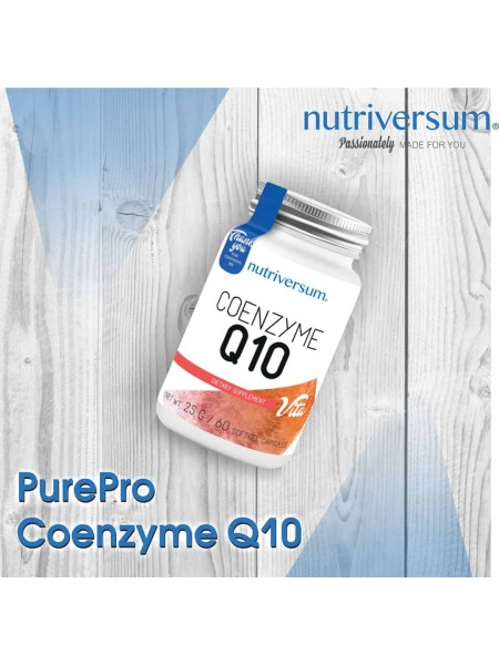 Nutriversum PurePro Coenzyme Q10 (60 капс)