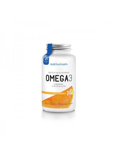 Nutriversum PurePro Omega 3  (90 капсул)