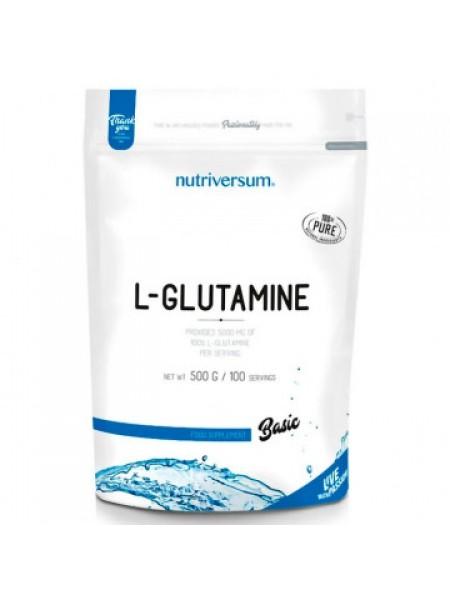Nutriversum L-Glutamine PurePRO 100% (500 грамм)