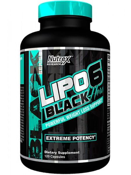 Nutrex Lipo 6 Black Hers (120 капс)