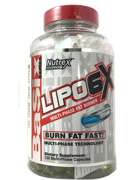 Nutrex LIPO-6X NEW (120 капс)
