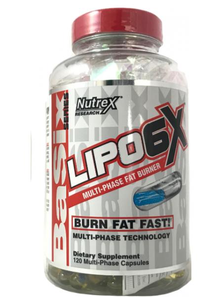 Nutrex LIPO-6X (120 капс)