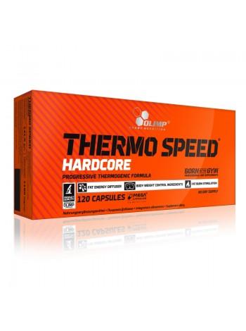 Olimp Thermo Speed Hardcore Mega Caps (120 капс) , , 1 750 RUB, Thermo Speed Hardcore Mega Caps , OLIMP Sport Nutrition, Жиросжигатели