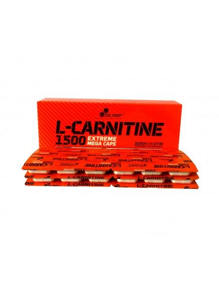 Olimp L-Carnitine 1500 Extreme Mega Caps (120 капс)