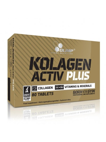 Olimp Kolagen Activ Plus Sport Edition (80 табл.)
