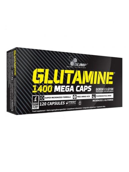 Olimp L-Glutamine Mega Caps 1400 (120 caps)
