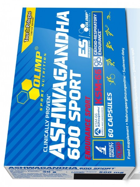 Olimp Ashwagandha 600 Sport Edition (60 капсул)