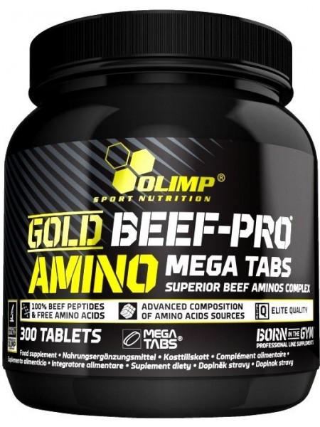 Olimp Gold Beef Pro Amino Mega Tabs (300 tabs)