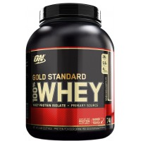 Optimum nutrition 100% Gold Standard Whey (2230 gramm) + BONUS