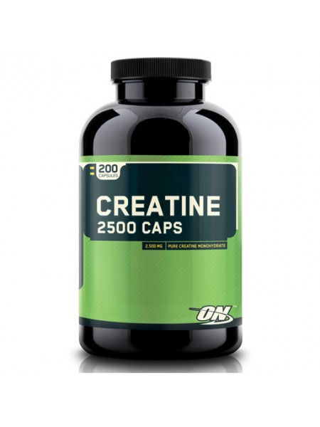 Optimum Nutrition Creatine 2500 Caps ( 200 капсул)
