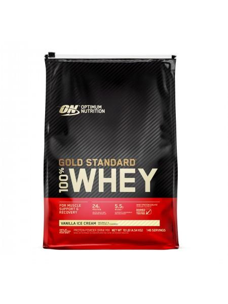 Optimum nutrition 100% Gold Standard Whey (4560 gramm) - NEW
