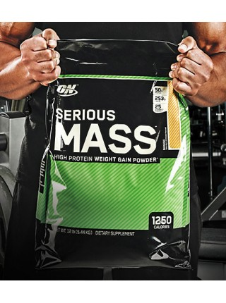 Optimum nutrition Serious Mass (5.4 kg)  акция до 31.05.2020