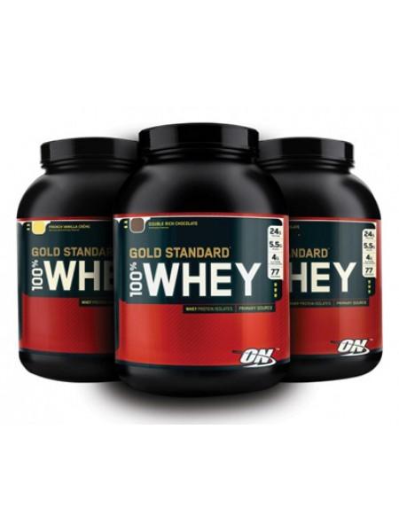 Optimum nutrition 100% Gold Standard Whey (2230 gramm)  - срок 04/18 (включительно)
