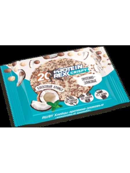 """ProteinRex Хлебцы протеино-злаковые 20% Crispy """"Кокосовый крамбл"""" (55 грамм)"""