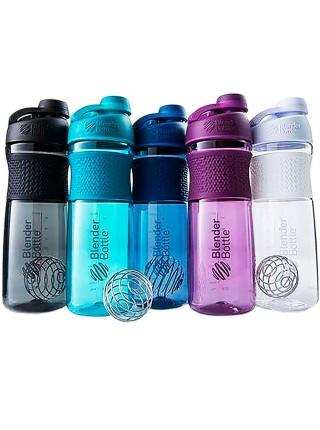 Blender Bottle® Twist 828мл шейкер и бутылка для воды с шариком пружинкой