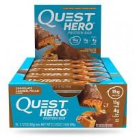 Quest Nutrition Hero Bar Chocolate Caramel Pecan (10шт)