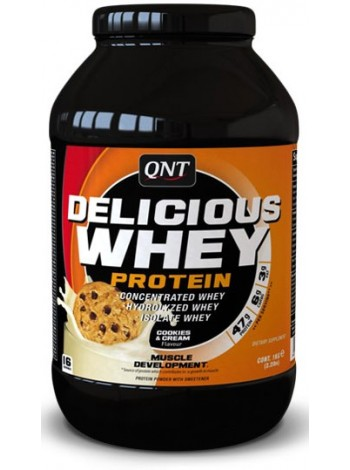 QNT Delicious Whey Protein (2200 g) , , 3 550 RUB, Delicious Whey Protein, QNT(Quality Nutrition Technology), Протеины