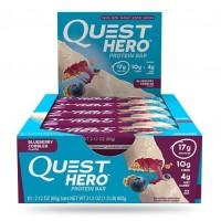 Quest Nutrition Quest Hero Bar Blueberry Cobbler (10шт)