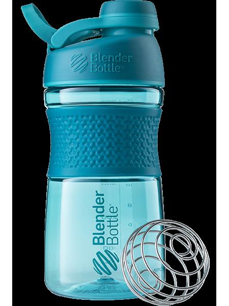 Blender Bottle® Twist 591мл шейкер и бутылка для воды с шариком пружинкой