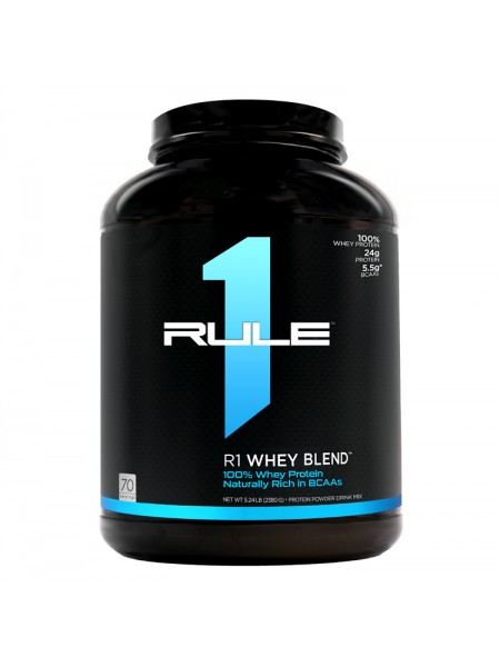 Rule1 Whey Blend (2280 g) NEW