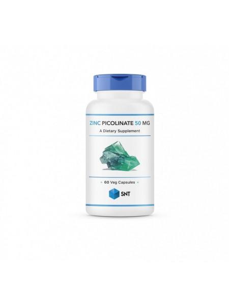 SNT Zinc Picolinate, Пиколинат Цинка 50 мг (60 капс)
