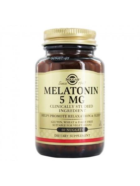 Solgar Melatonin 5 mg Nuggets (60 caps)