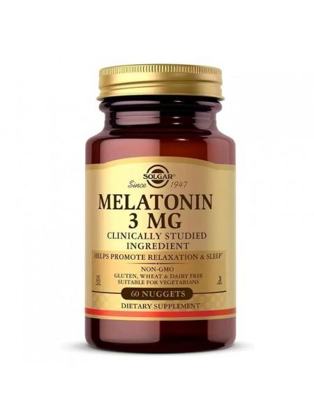 Solgar Melatonin 3 mg Nuggets (60 caps)