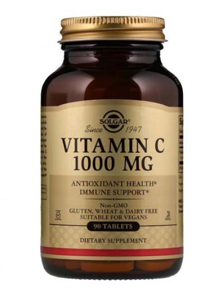 Solgar Витамин С 1000 MG (90 tabs)