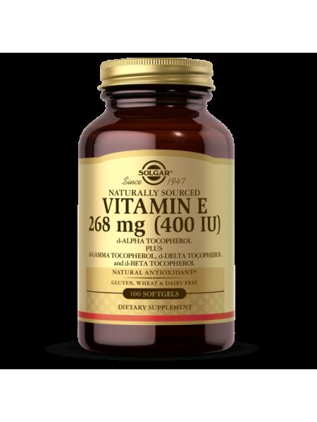 Solgar Vitamin E 400 IU Mixed Softgels (400 IU d-Alpha Tocopherol & Mixed Tocopherols) (50 caps)
