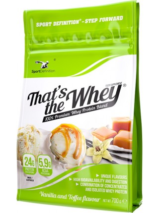 SportDefinition  That's The Whey (WPI+WPC)  (700гр.)