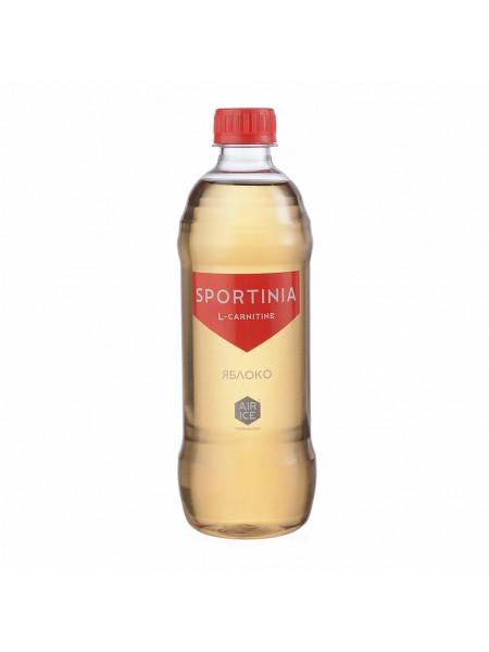 Вода питьевая SPORTINIA L-CARNITINE Яблоко  (500 мл)