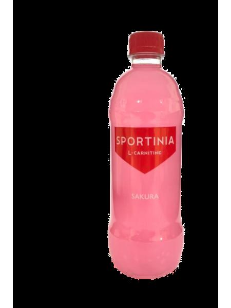 Вода питьевая SPORTINIA L-CARNITINE Сакура  (500 мл)