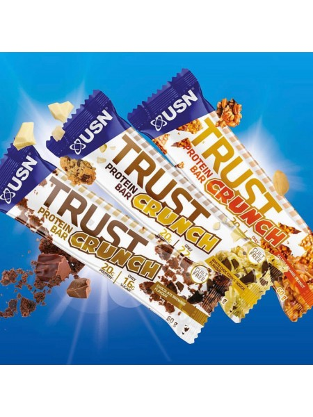 USN BAR TRUST CRUNCH (60g)  упаковка 12 штук