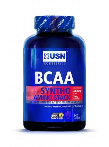 USN BCAA Syntho Stack (240 caps) , , 1 990 RUB,  Syntho Stack, USN (Англия) , Аминокислоты