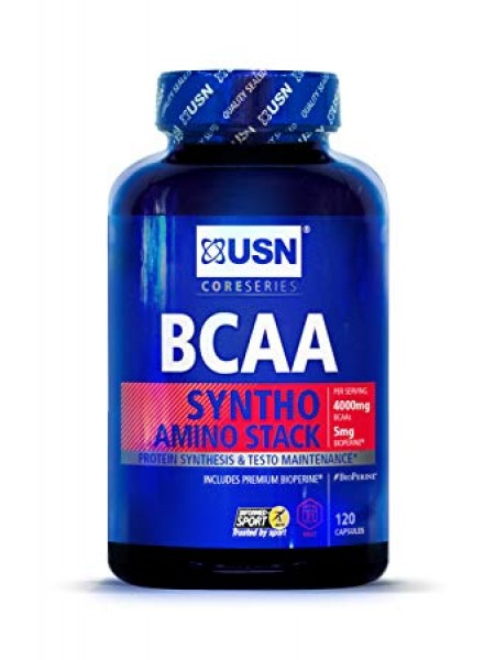 USN BCAA Syntho Stack (120 caps)