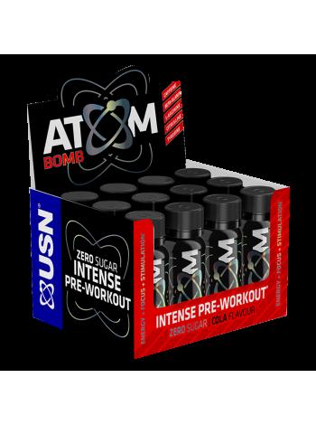 USN Atom Bomb 60 ml (12 шт) , , 1 680 RUB,  Atom Bomb, USN (Англия) , Предтренировочные комплексы