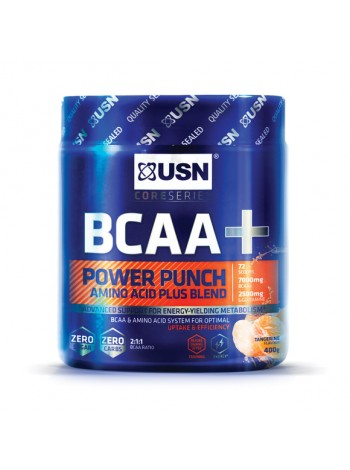 USN BCAA Power Punch (400 g) , BCAA Power Punch, USN (Англия) , Аминокислоты