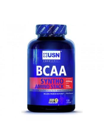 1351, USN BCAA Syntho Stack (120 caps) , , 1 400 RUB, Syntho Stack, USN (Англия) , Аминокислоты